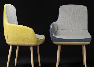 Ego Chair 3D Model 2