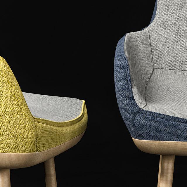 Ego Chair 3D Model 3