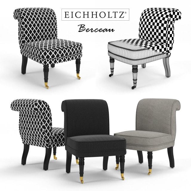 Eichholtz Berceau Chair 3D Model