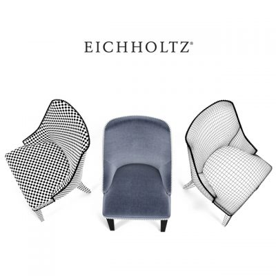 Eichholtz Bermuda Chair 3D Model