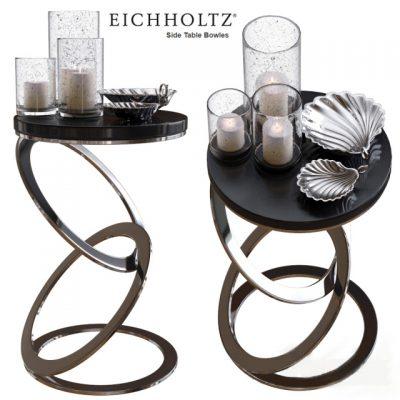 Eichholtz Bowles Side Table 3D Model
