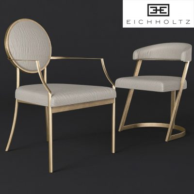 Eichholtz Dining Chair 3D Model