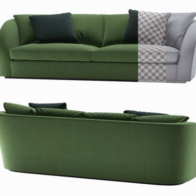 Eichholtz Les Palmies Sofa 3D Model