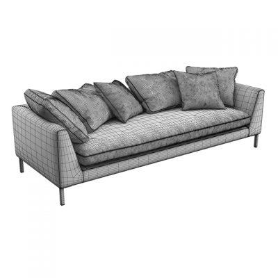 Ekmi Enrike Sofa 3D Model 2