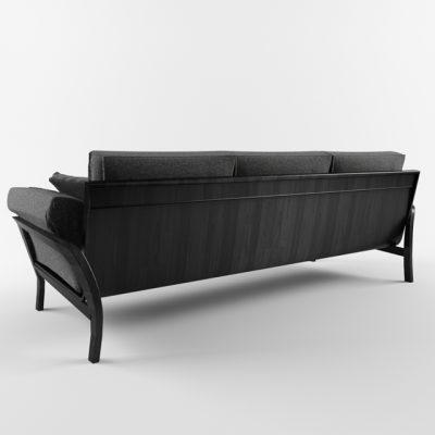 Eloro Modern Sofa 3D Model