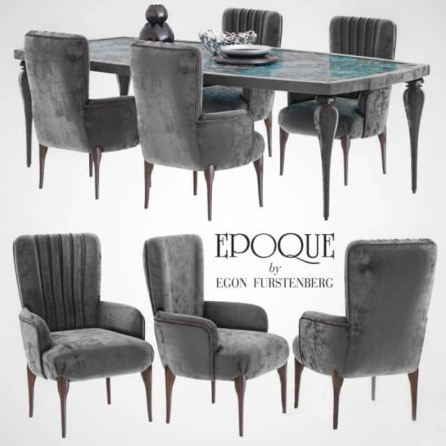 Epoquesalotti Pantelleria Chair Table 3D 1