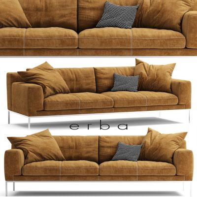 Erba Italia Edizone Vol.02 Sofa 3D Model