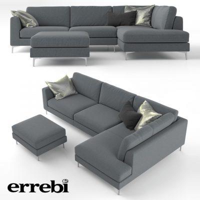 Errebi Iko Living Room Sofa 3D Model