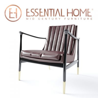 Essential Home – Hudson Armchair 3D Model