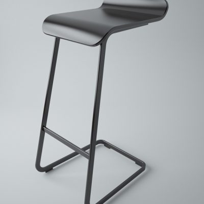 Established & Sons Alto High Chair 3D Model