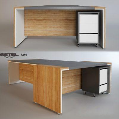 Estel – Loop Table 3D Model