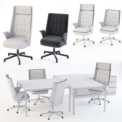 Estel Office Set 3D Model 2