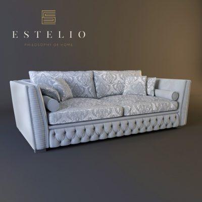 Estelio Glance M4 Sofa 3D Model