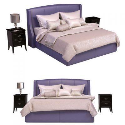 Estetica Venice Bed 3D Model