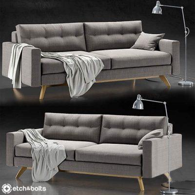 Etch &Bolts Alfinch Sofa 3D model