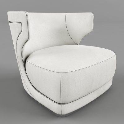 Etienne Baxter Armchair 3D Model