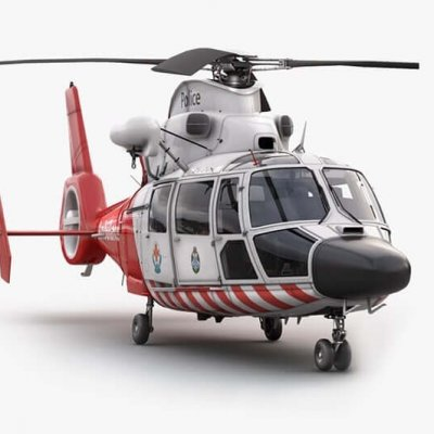 Eurocopter AS 365 Vray preview 3