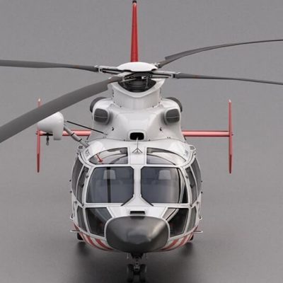 Eurocopter AS 365 Vray preview 4
