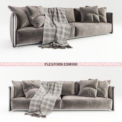 FLexform Edmond 2800 Sofa 3D Model