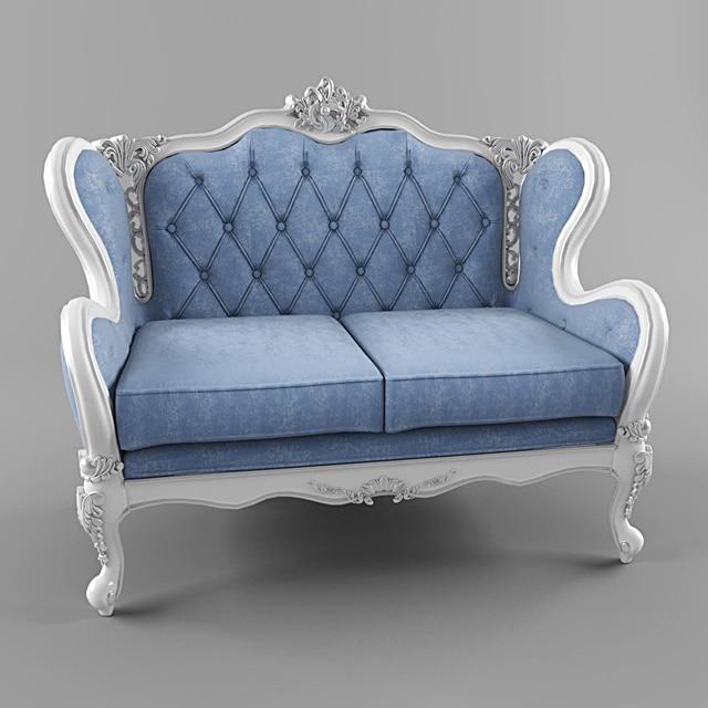 Fanteri Sofa 3D Model