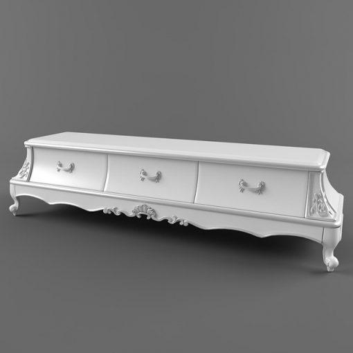 Fanteri TV Stand-02 3D Model