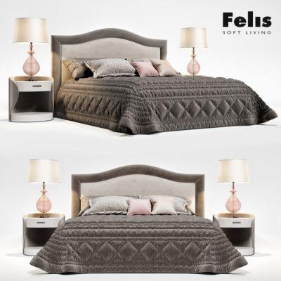 Felis Bed Oscar 3D Model