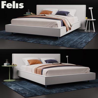 Felis Bolton Bed 3D Model