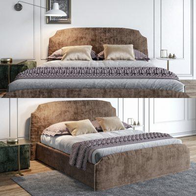 Felis Demy Bed 3D Model