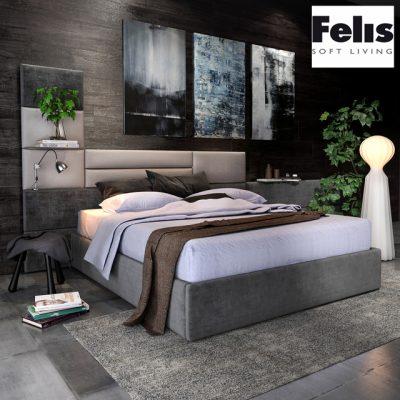 Felis Sommy Bed 3D Model