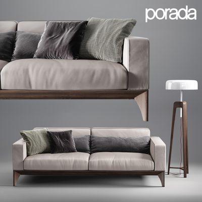 Fellow Porada Sofa 3D Model