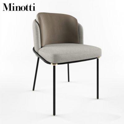 Final Fil Noir Chair 3D Model