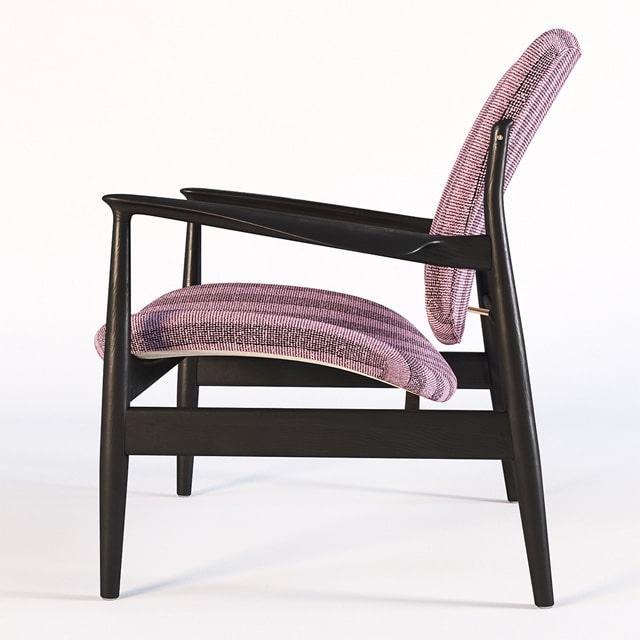 Finn Juhl France Chair 3D Model 3