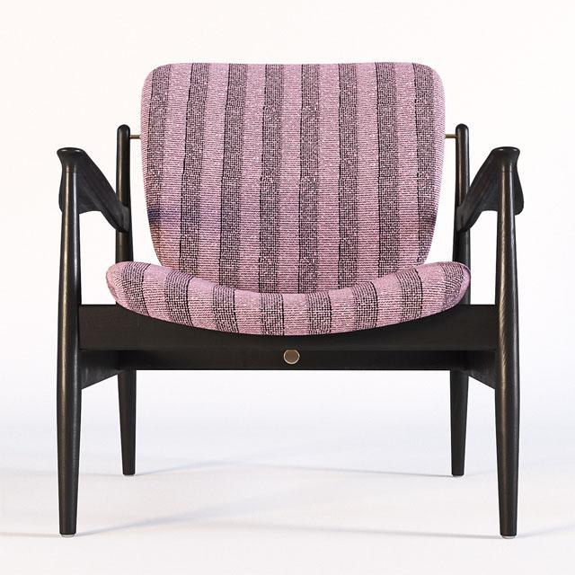 Finn Juhl France Chair 3D Model 4