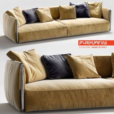 Flexform Edmond Sofa 3D Model