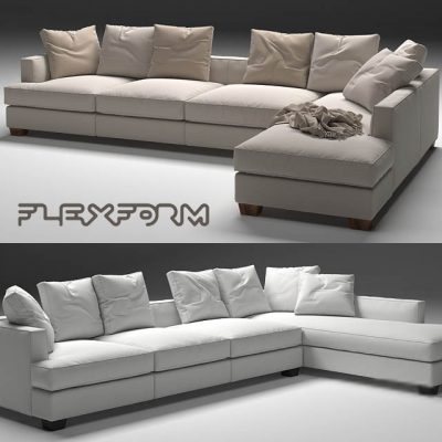 Flexform Eros Sofa 3D Model