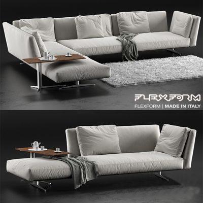 Flexform Evergreen sofa 3dmodel