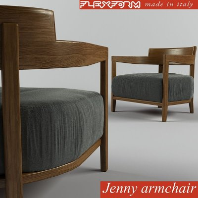 Flexform Jenny Armchair 3D model