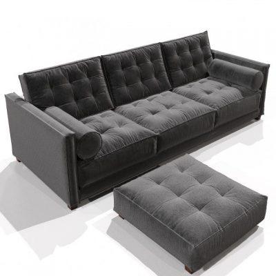 Flexform Le Canape Sofa 3D Model