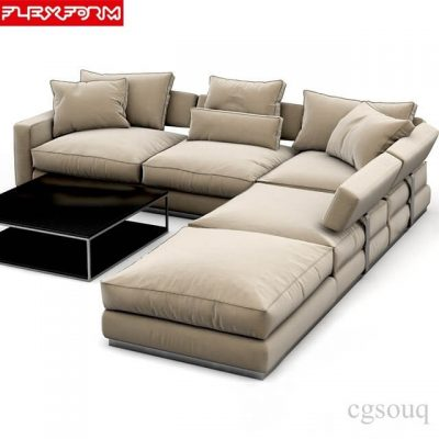 Flexform Sofa Pleasure 3D model