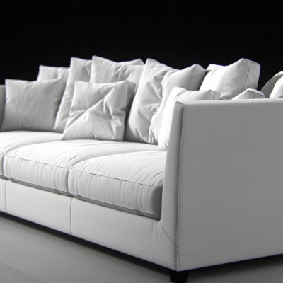 Flexform Victor Sofa 3D Model