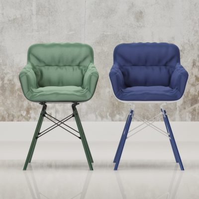 Flow Armchair 3D Model