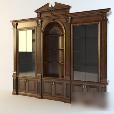 Franchesco Molon Display Wardrobe 3D Model