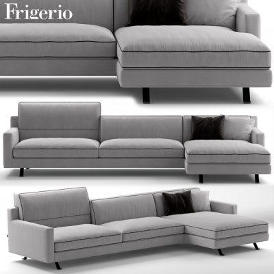 Frigerio James Sofa Set-02 3D Model