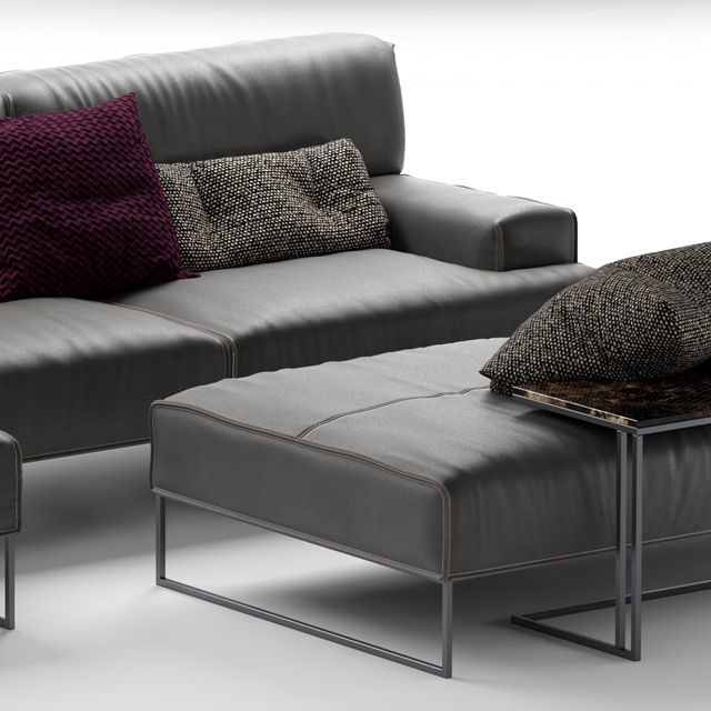 Frigerio Salotti Cloud Sofa 3D Model 2
