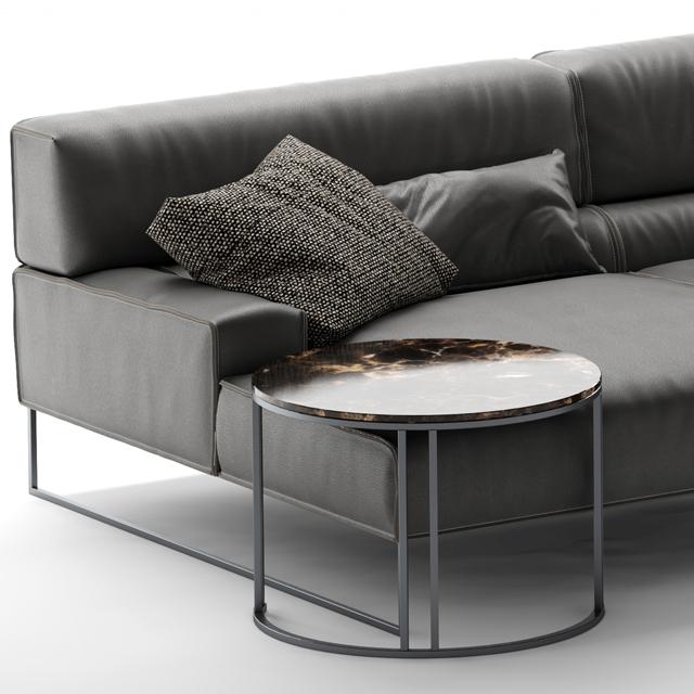 Frigerio Salotti Cloud Sofa 3D Model 3