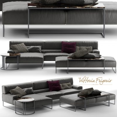 Frigerio Salotti Cloud Sofa 3D Model