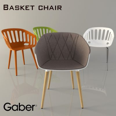 Gaber Basket Chair 3D Model