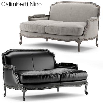 Galimberti Nino Pigra Divano Sofa 3D Model