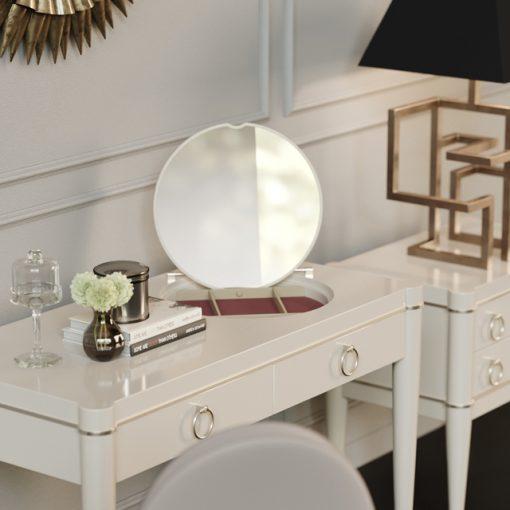 Galimberti Nino Tormalina Smeraldo Table & Chair 3D Model 2