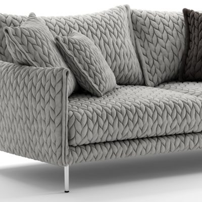 Gentry 105 Two-Seater Sofa 3D Model